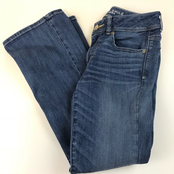 American Eagle Outfitters Denim - American Eagle Womens Jeans 6 SHORT Kick Bootcut